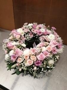Pretty Pink Wreath