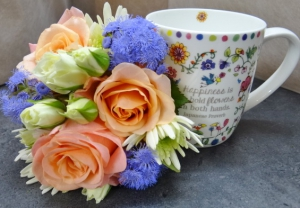Cup And Posy
