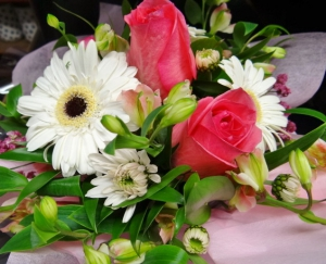 Boxed Roses And Gerberas
