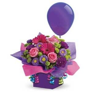 Flower Box & Balloon
