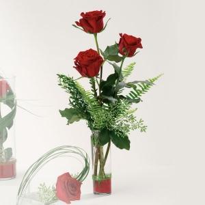 3 Roses Bud Vase