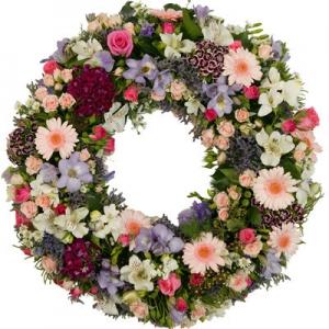 Wreath Sympathy Floral