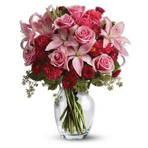 Flower Bouquet Charm Her