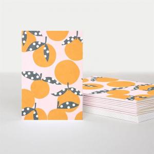 Tangerine Mini Card