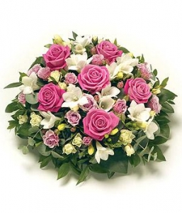 Pink Rose Posy