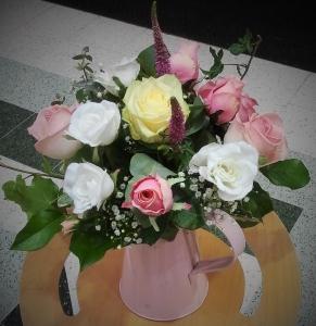 Pink Rose Jug