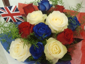 British Rose Bouquet