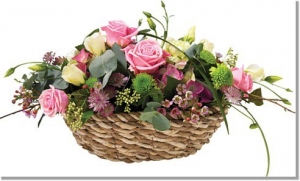 Deluxe Flower Basket