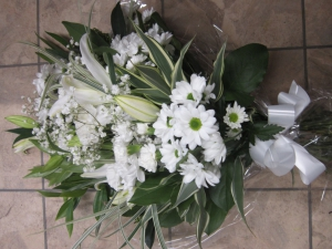 White And Green Sheaf