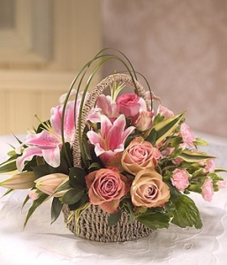Lily & Rose Basket