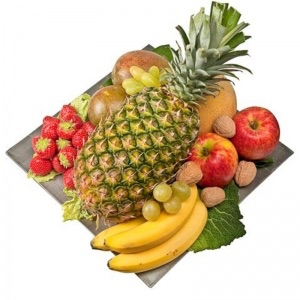 Tray Of Fruits