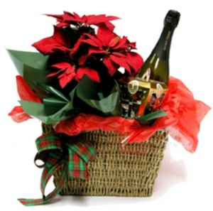 Elegant Basket Christmas