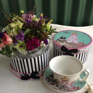 Tea Cup Box
