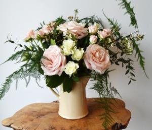 Vintage Rose Jug
