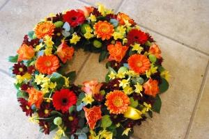 Autumnal Tribute Wreath