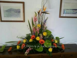 Centro Floral Tropical