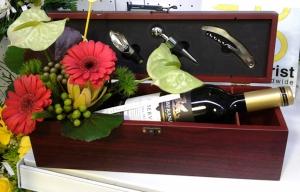 Caja Gourmet Con Vino