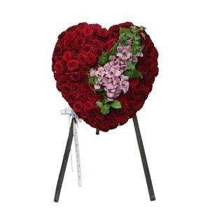 Full Heart Of Elegant Red