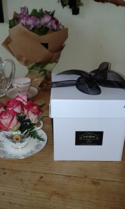 Teacup Posy In A Box
