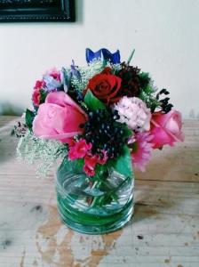 Posy In Vase