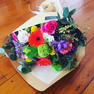 Colourful Vintage Bouquet