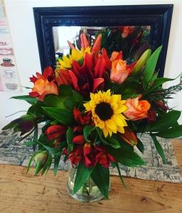 Autumn Bouquet In Vase