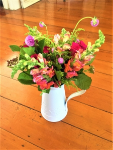 Country Posy In Jug