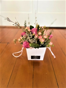 French Posy In A Bag