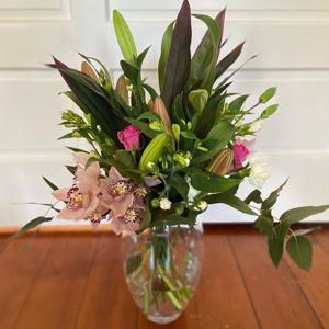 Winter Bouquet In Vase