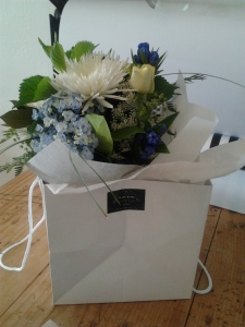 Bouquet In Bag