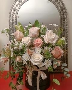 Elegant Rose Hatbox