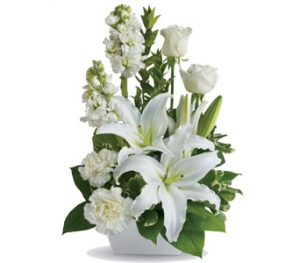All Whites Bouquet