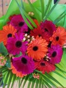 Bright Gerbera Bouquets