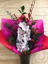 Bright Orchid Bouquet
