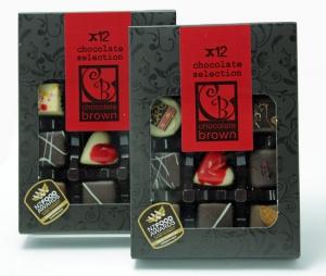 12 Handmade Chocolates
