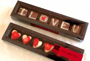 Handmade Chocolates LOVE