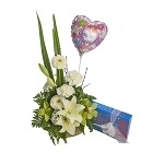 Flowers Choc & Balloon