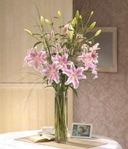 Luxury Lily Vase