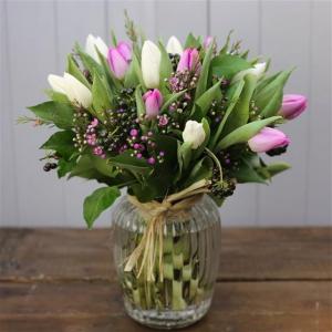 A Tulip Sweetie Jar