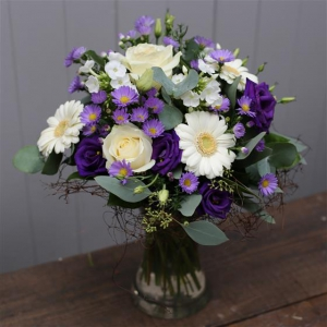 Petite Blue & White Vase