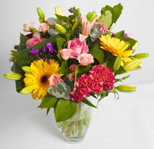 Colourful Hand Tied Bouqu