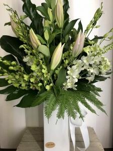 Oriental Lilies & Orchids
