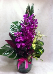 Bright Orchid Arrangement
