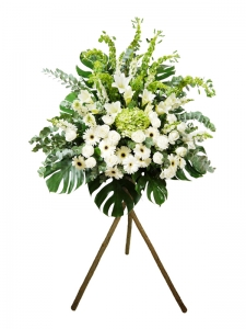 Funeral Basket W/Stand