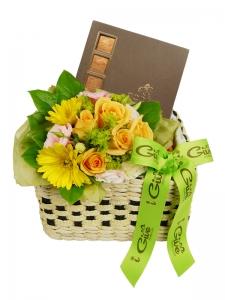 Flower W/Chocolate
