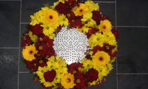 Funeral Wreath - Autumnal