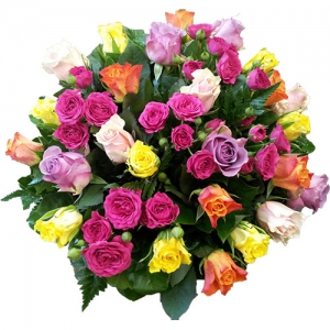 Bouquet Mixed Roses