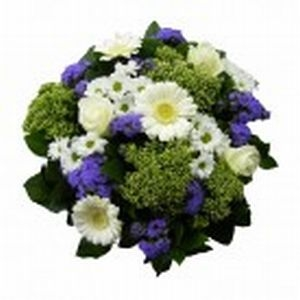 Bouquet Blue White