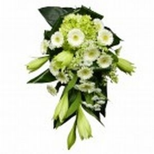Funeral Bouquet White