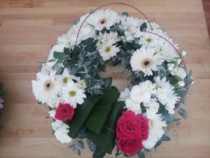 Wreath Funeral Tribute